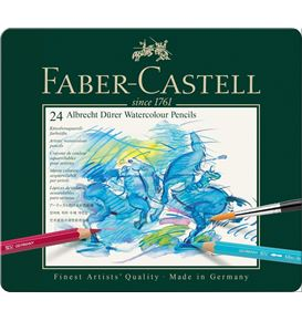 Faber-Castell - Watercolour pencil Albrecht Dürer tin of 24