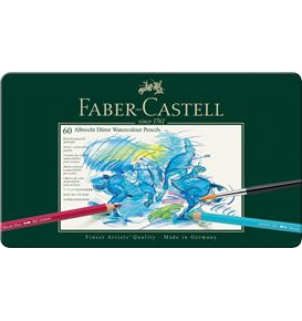 Faber-Castell - Watercolour pencil Albrecht Dürer tin of 60