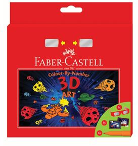 Faber-Castell - 3D Connector felt-tip pen set