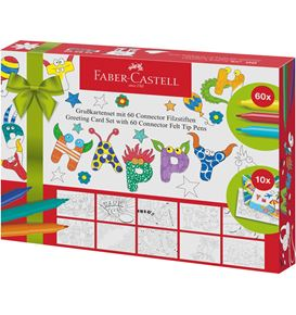 Faber-Castell - Greeting Card Set 60 Connector