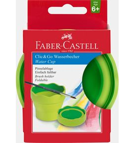 Faber-Castell - Water cup Clic&Go light green