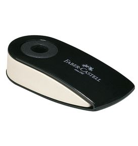 Faber-Castell - Sleeve Mini eraser, black