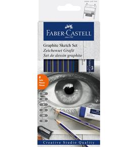 Faber-Castell - Goldfaber Sketch set, graphite