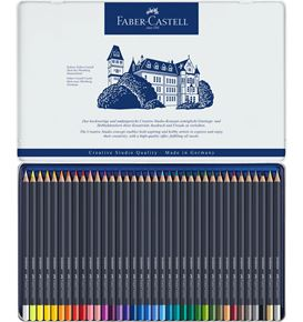 Faber-Castell - Colour pencil Goldfaber metal tin of 36