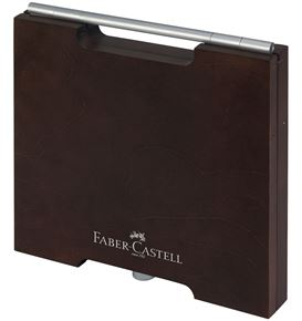 Faber-Castell - Art supplies Pitt Monochrome wood case