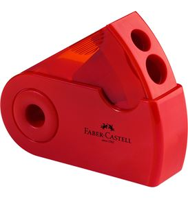 Faber-Castell - Double hole sharpener box red/blue